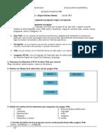 Evaluación Diagnóstica Bloque II y Apuntes