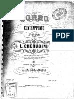 Luigi Cherubini - Corso di contrappunto e di fuga