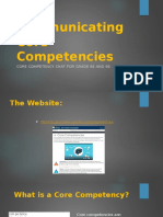 website copy communicating core competencies - copy