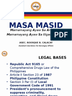 Masa Masid (Sulong Pilipinas) Revised as 09192016 9am