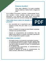 3.-PRIMEROS AUXILIOS