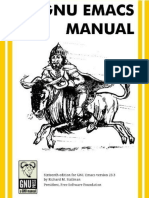 GNU Emacs Manual - Richard Stallman