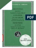 Aristotle - Poetics; Longinus - On the Sublime; Demetrius - On Style-Harvard University Press (1995).pdf