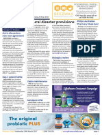 Pharmacy Daily for Wed 29 Mar 2017 - Pharmacy disaster relief, Philips pharmacy sleep deal, pharmacist fraud, Health