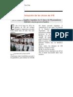 Crónica periodistica Anahí - Franco
