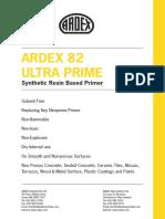ARDEX P 82 Datasheet