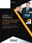 Curso Nueva Ley y Reglamento de Las Contrataciones Del Estado - Abril