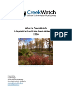 CreekWatch Annual Report - 2016