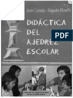 Didactica Del Ajedrez Escolar