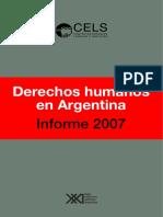 Derechos humanos en Argentina