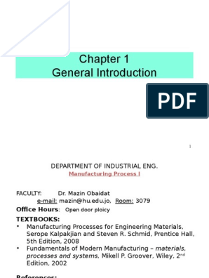 Introduction to manufacturing process | Metals | Alloy
