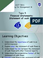 Topic 5 Cash Flow Statement