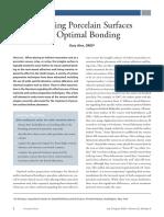 3 Preparing Porcelain Surfaces for Optimal Bonding