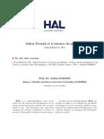 Julien Freund Et L'Essence Du Politique Relation Ami Ennemi Comme Un Des Trois Pilliers Du Politique