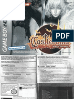 Castlevania - Aria of Sorrow - Manual - GBA
