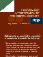 Radiographic Interpretation of Periodontal Disease Part 1