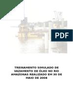 Treinamento Simulado de Vazamento de Óleo No Rio Amazonas