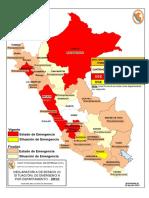 Declaratorias de Emergencia Vigentes - InDECI - 20120720