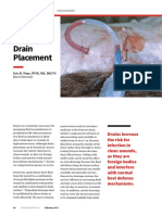 Wound Drain Placement