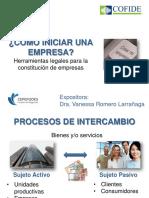 Formalizacion de Empresas-Vanessa Romero