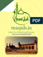 Masjids.in Sponsorship Brochure