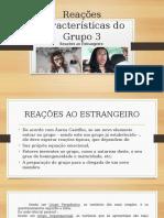 Reações Características Do Grupo 3