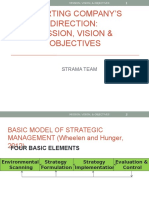 Mission Vision Objectives