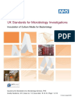Inoculation of Culture Media for Bacteriology