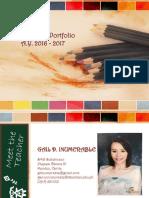 my teaching portfolio