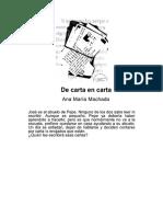 Libro de Carta en Carta Ana Maria Machado