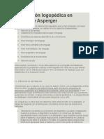 Intervención Logopédica en Autismo y Asperger