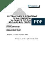 Informe Bases Biológicas de La Conducta