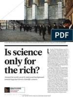 Is Science Only for the Rich