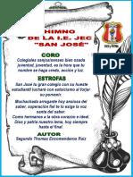 Himno Del Coelgio San Jose 2017
