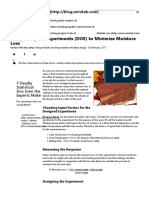 Using Designed Experiments (DOE) to Minimize Moisture Loss _ Minitab