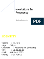 Adnexa Mass n PregnancyEDit