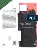 Chartier-Microhistoria y Globalidad