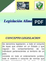 legislacion Alimentaria