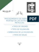 procedimiento de fabricacion de las estructuras de acero. - copia.docx