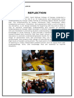 UbD Reflection