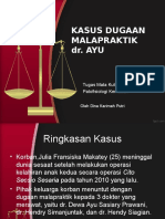 Kasus Dr.ayu