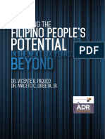 Unlocking the Filipino People's Potential in the Next Six Years and Beyond