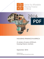 CAHF Housing Finance in Africa Yearbook 2016.09