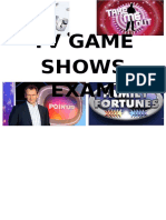 TV Game Shows Easter Revision