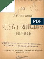Poesias y Traducciones