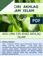 Ciri – Ciri Akhlaq2