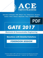 EC GATE 2017 Forenoon-Session