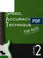 Speed_ Accuracy & Technique for Bass Level 2