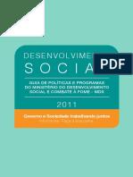 Guia de Politicas e Programas Do Mds