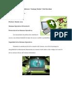Proteccion y Seguridad de los sistemas operativos